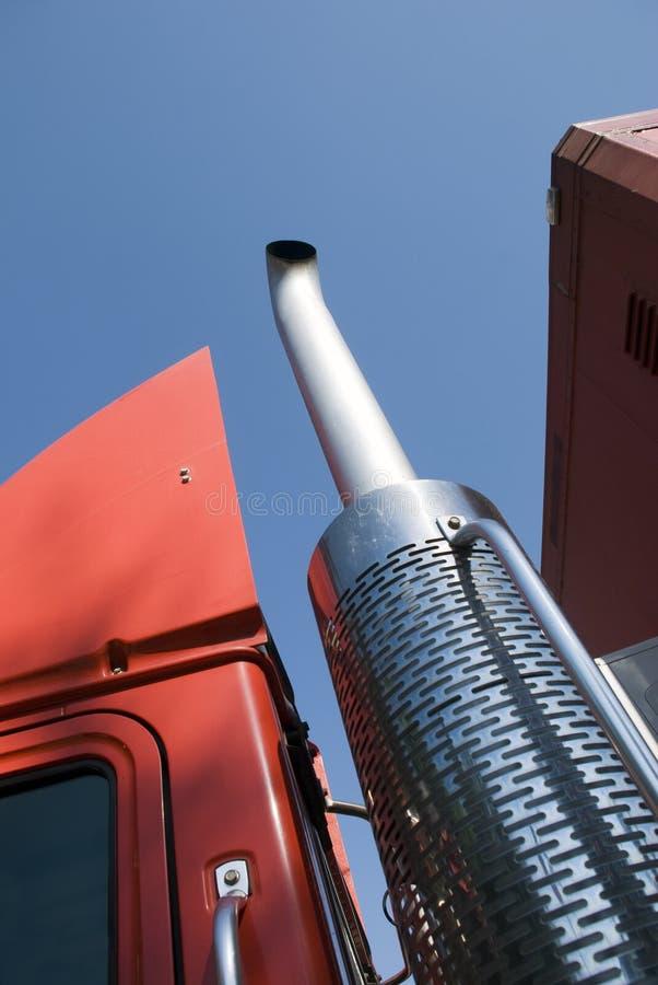 Vrachtwagendetail stock foto