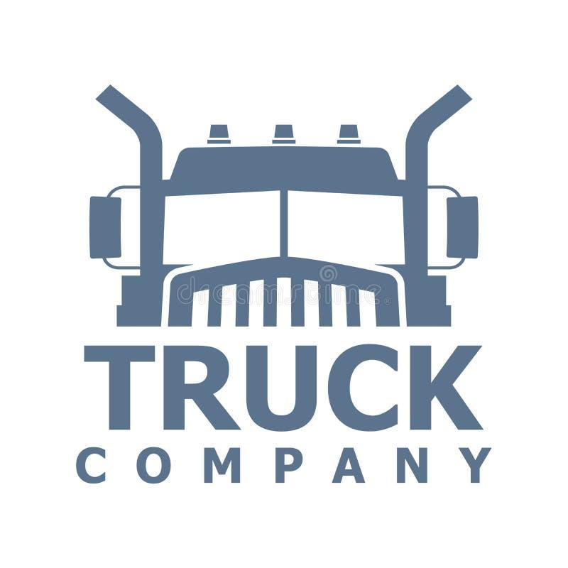 Vrachtwagenembleem stock foto's