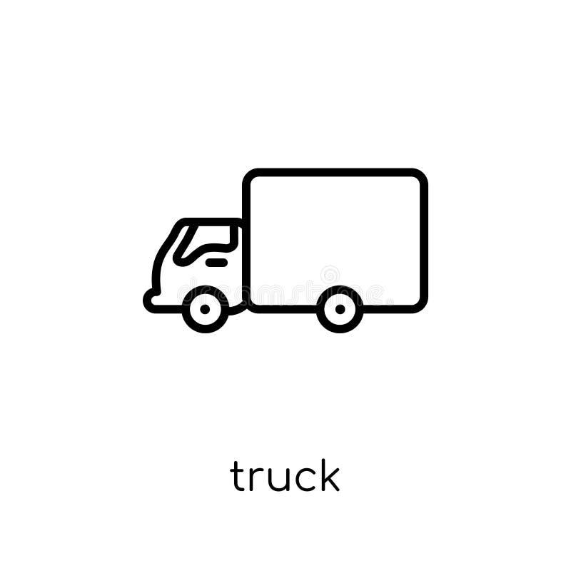 Vrachtwagenpictogram van inzameling royalty-vrije illustratie
