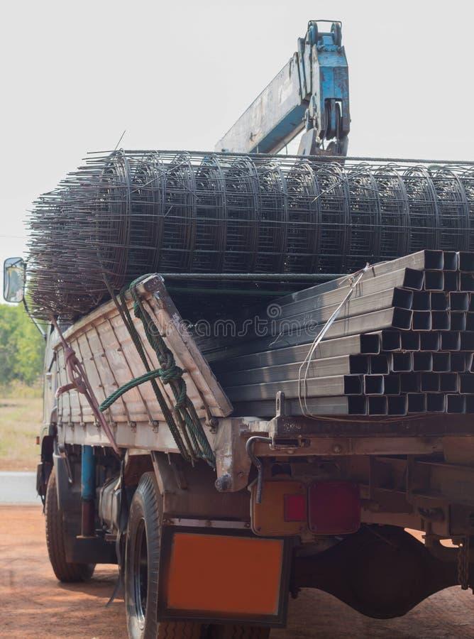 Vrachtwagenstaal stock foto's