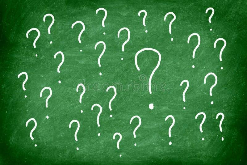 Vragen stock illustratie