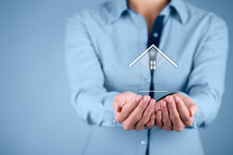 Vrai agent immobilier image libre de droits