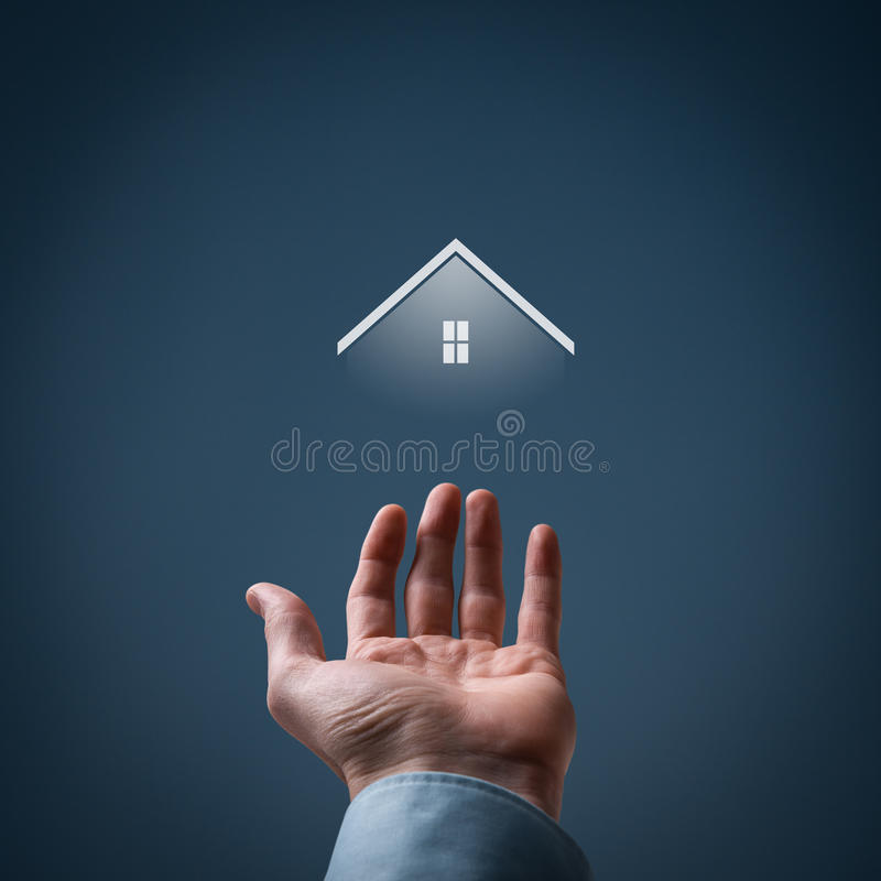 Vrai agent immobilier photo stock