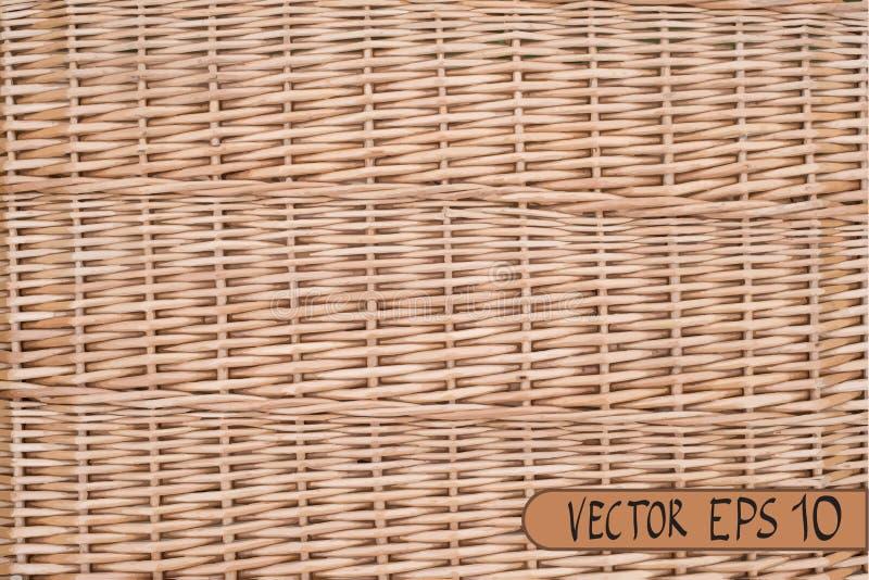Vrai modèle en osier Illustration de vecteur ENV 10 pour votre conception illustration de vecteur