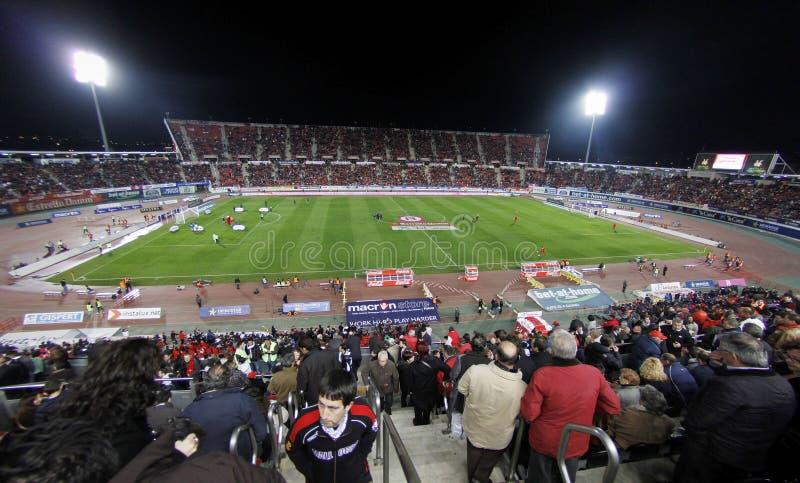 Vrai stade d'équipe de football de Majorque photo stock