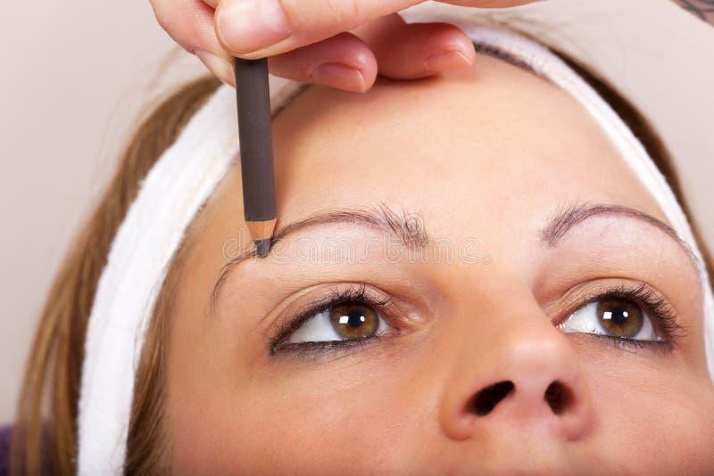Vrai traitement de beauté et de cosmétiques - série images stock