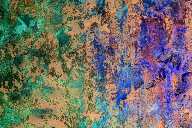 Vraiment beaucoup de texture sale de peinture de plancher - fond abstrait merveilleux de photo photos stock