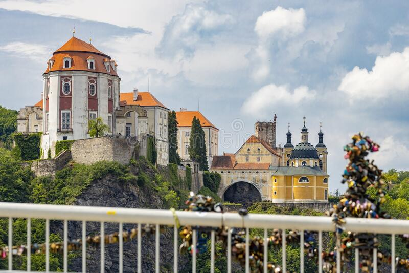 Vranov nad Dyji castle, Southern Moravia, Czech Republic stock photos
