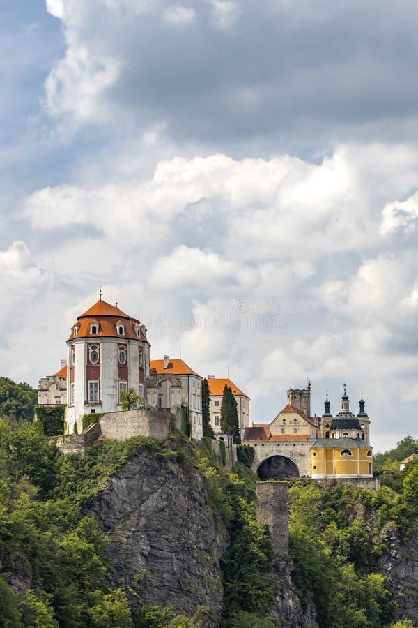 Vranov nad Dyji castle, Southern Moravia, Czech Republic royalty free stock photography