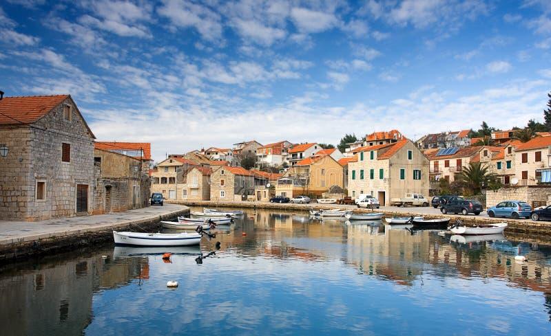 vrboska Хорватии стоковые изображения rf