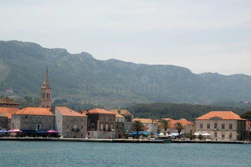Vrboska Kroatien lizenzfreie stockfotografie