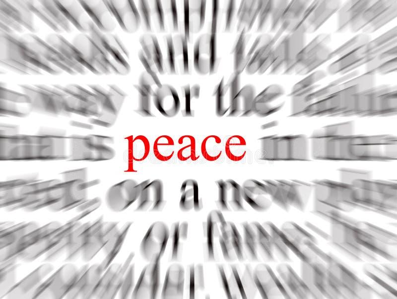 Vrede vector illustratie