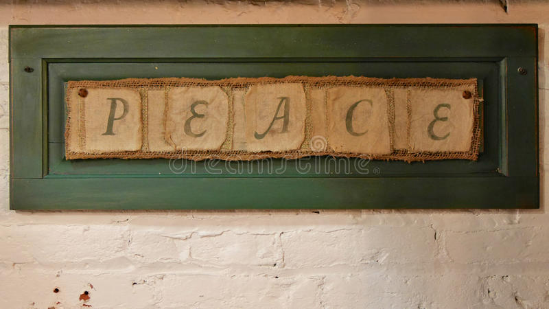 Vrede stock foto's