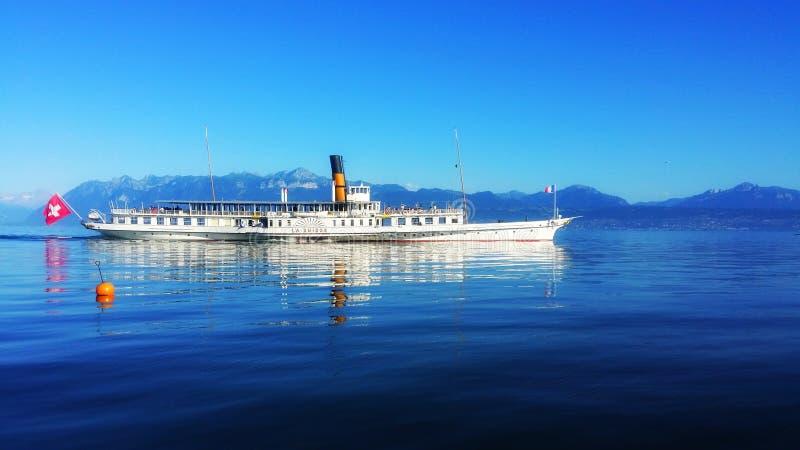 Vrede van het meer royalty-vrije stock fotografie