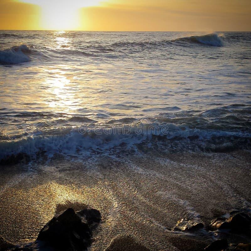Vreedzame oceaan stock fotografie