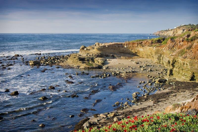 Vreedzame OceaanKust, Californië royalty-vrije stock foto's