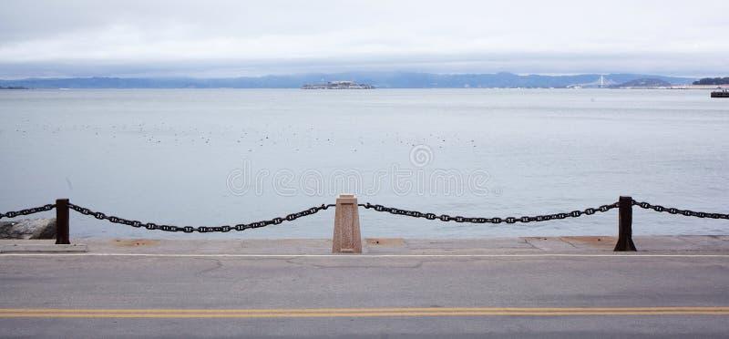 Vreedzame Oceaankustpoorten stock fotografie