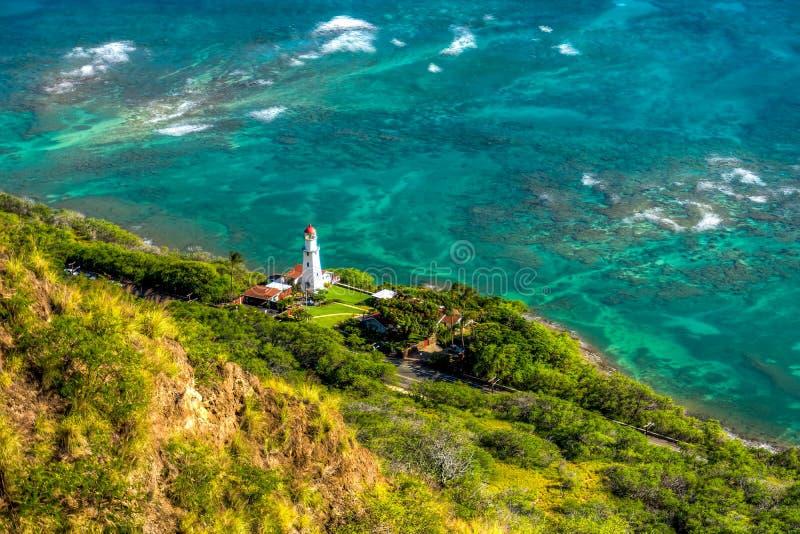 Vreedzame OceaanMening stock fotografie
