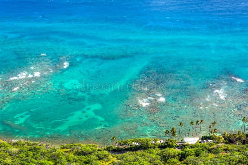 Vreedzame OceaanMening royalty-vrije stock afbeeldingen