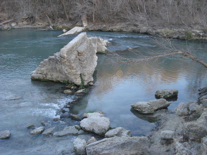 Vreedzame rivier royalty-vrije stock afbeeldingen