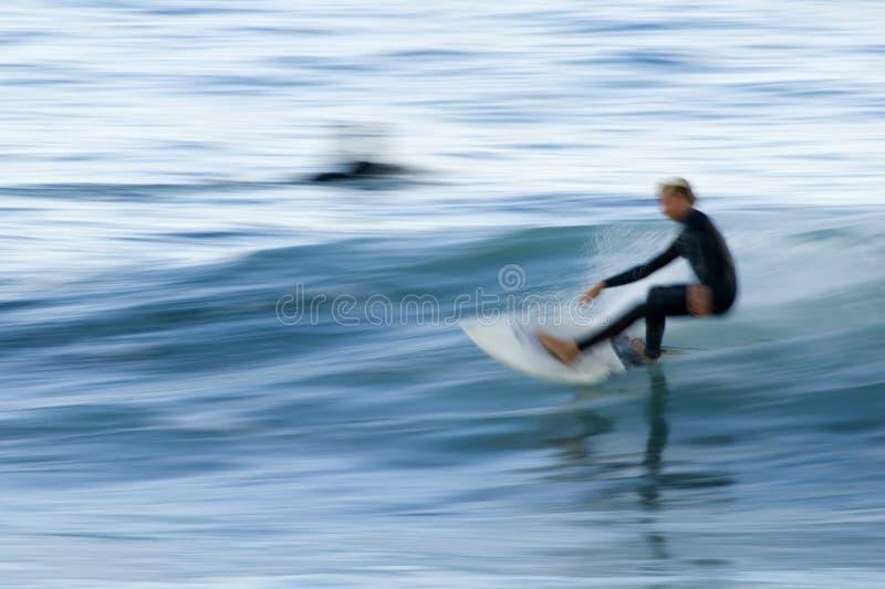 Vreedzame Surfer 3 royalty-vrije stock afbeeldingen