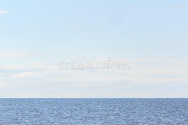 Vreedzame wateren van de golf royalty-vrije stock fotografie