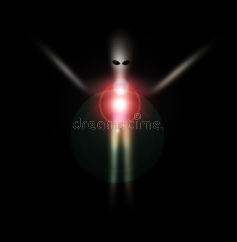 Vreemd Spook 8 vector illustratie