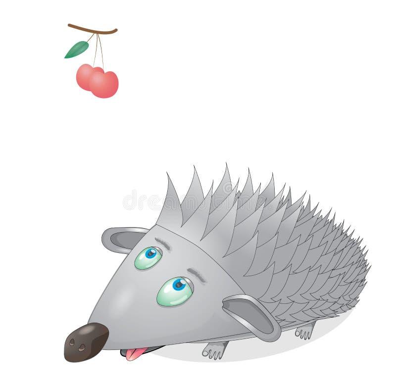Vreemde egel stock afbeelding