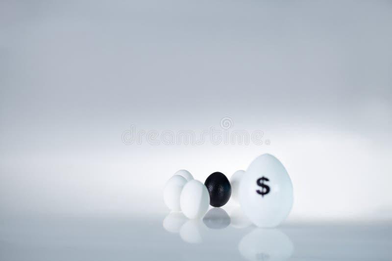 Vreemde eieren royalty-vrije stock foto