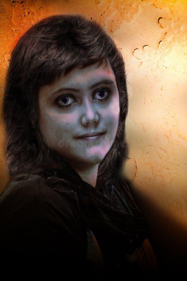 Vreemde gezichten vector illustratie