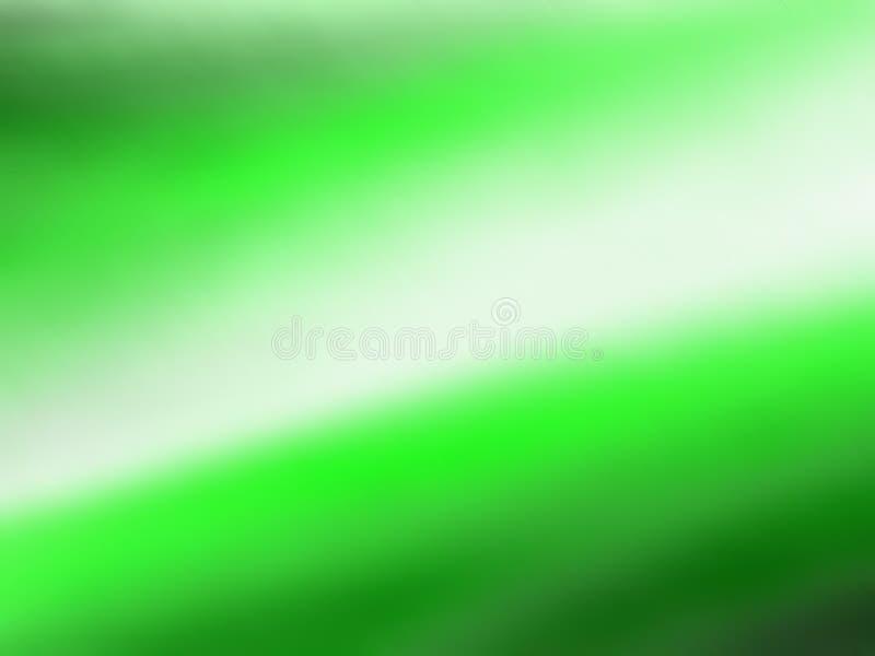 Vreemde Groene Hemel stock illustratie