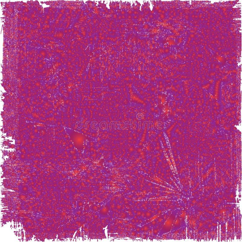 Vreemde kleurrijke achtergrond, moeilijk te letten op stock illustratie