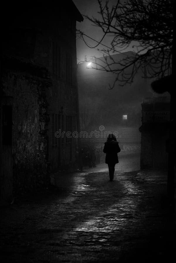 Vrees voor Dark stock foto's
