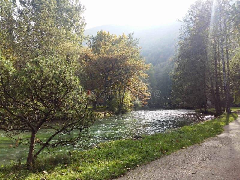 Vrelo Bosne royalty-vrije stock fotografie
