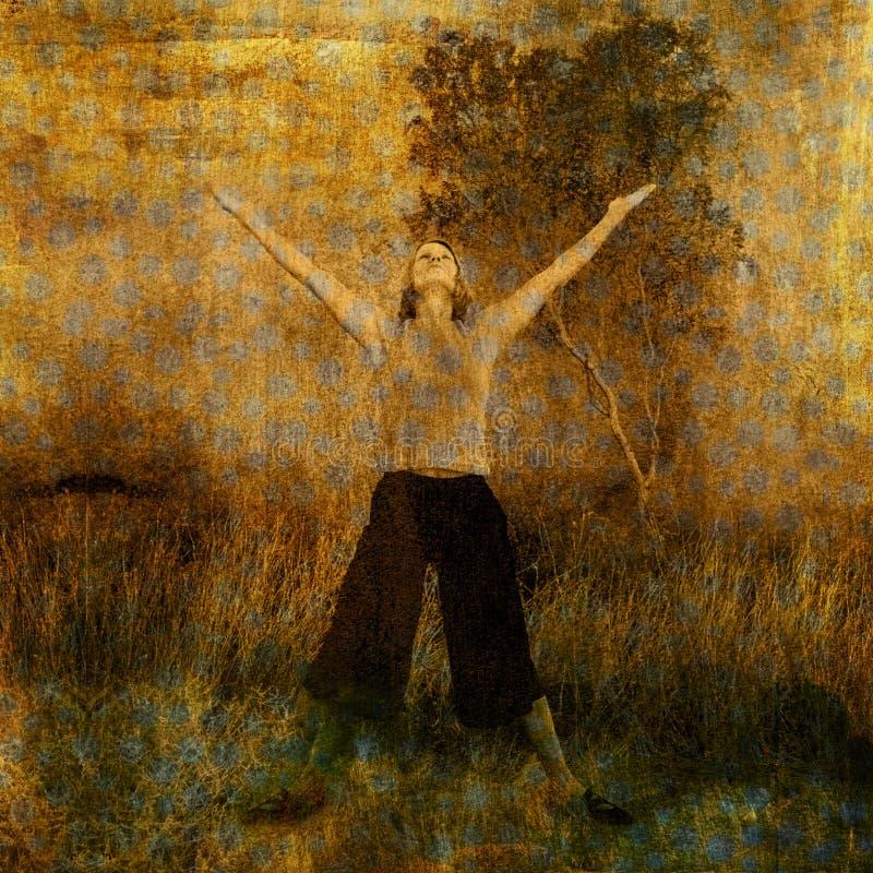 Vreugde en Geloof vector illustratie