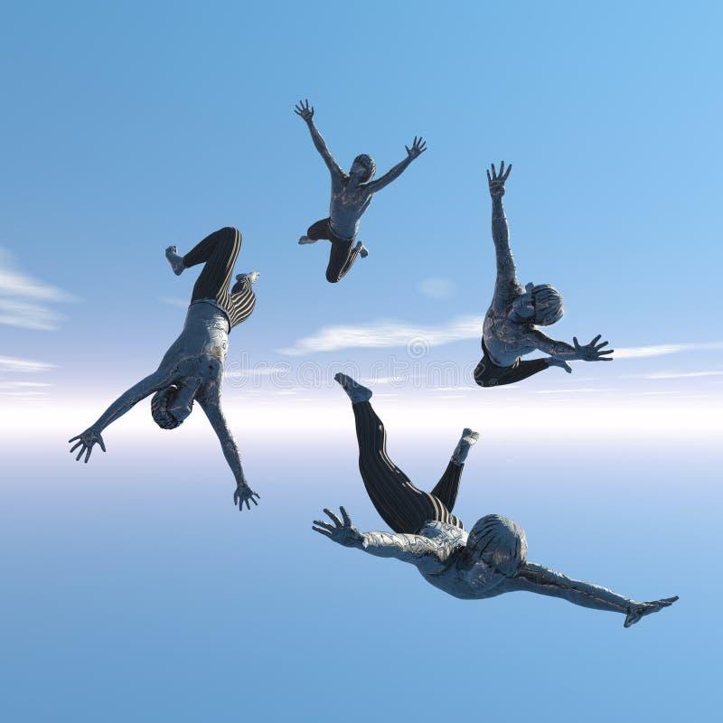 Vreugde van het leven vector illustratie