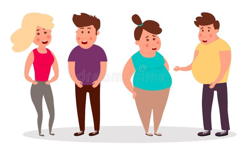 Vrienden Groep gelukkige mensen Groep gelukkige vrienden Vector illustratie vector illustratie