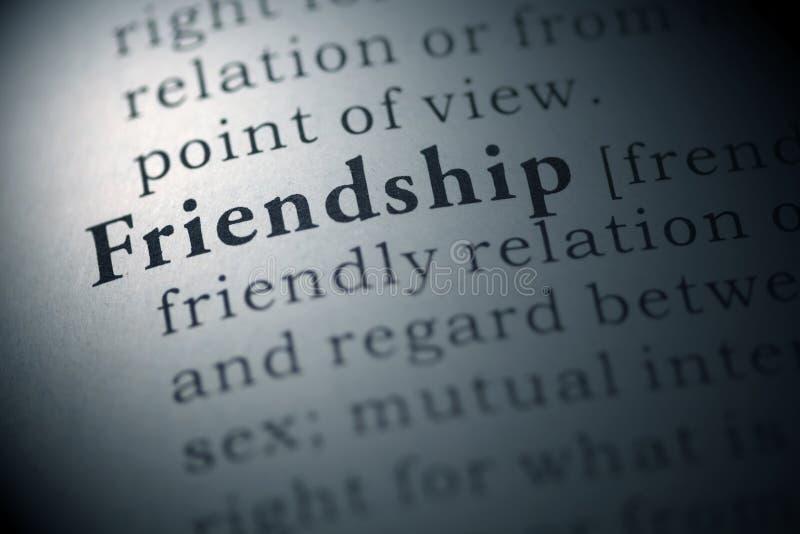 Vriendschap stock foto