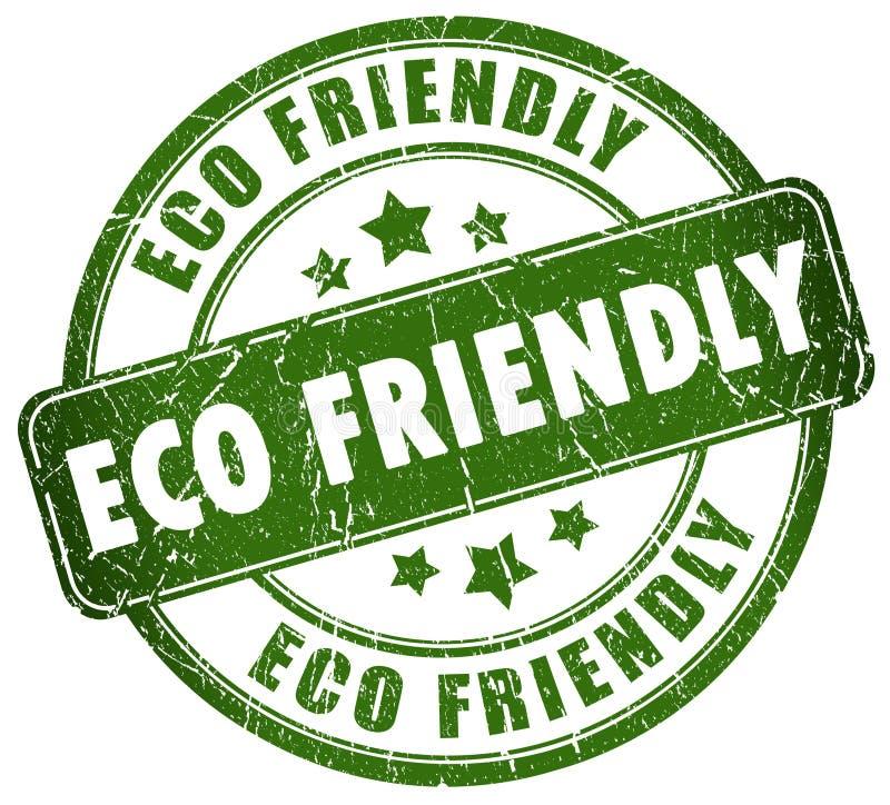 Vriendschappelijke Eco royalty-vrije illustratie