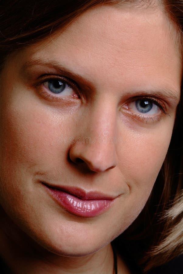 Vriendschappelijke vrouw royalty-vrije stock afbeelding