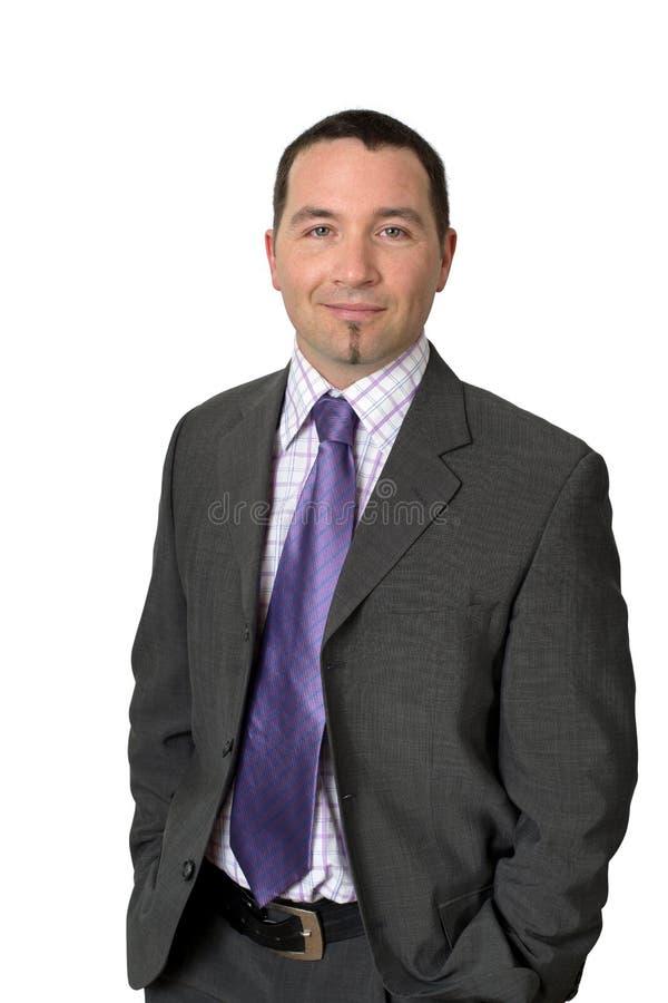 Vriendschappelijke zakenman royalty-vrije stock foto's