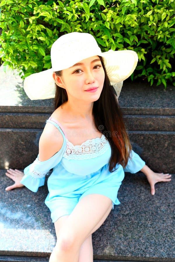 Vrij Aziatisch Meisje royalty-vrije stock foto