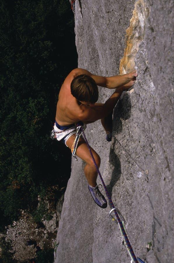 Vrij-beklimt in Italië royalty-vrije stock foto's