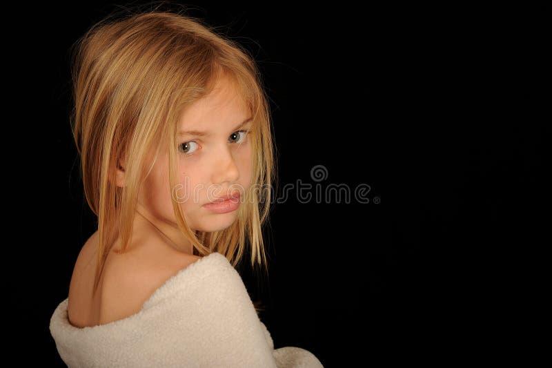 Vrij blond meisje stock afbeeldingen