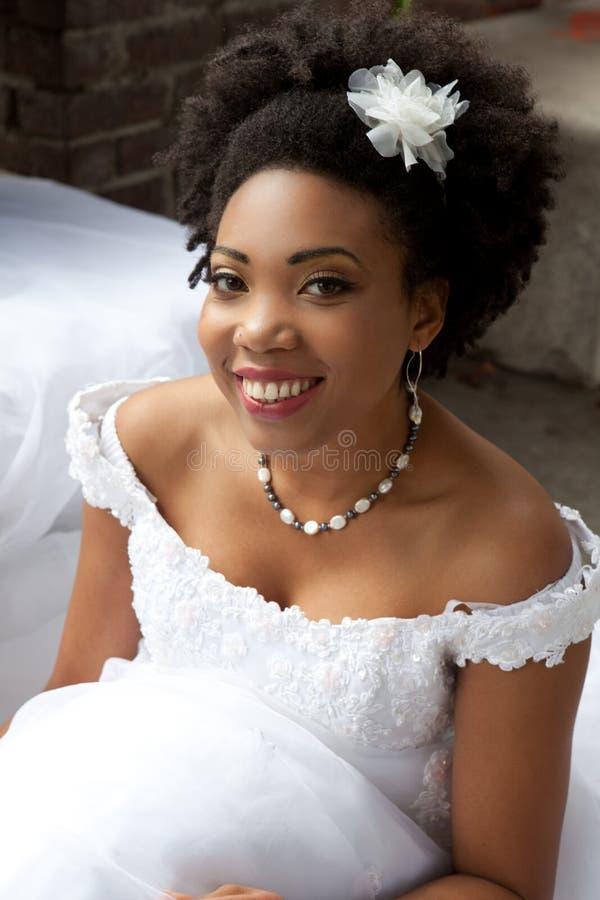 Vrij Etnische Bruid royalty-vrije stock afbeelding
