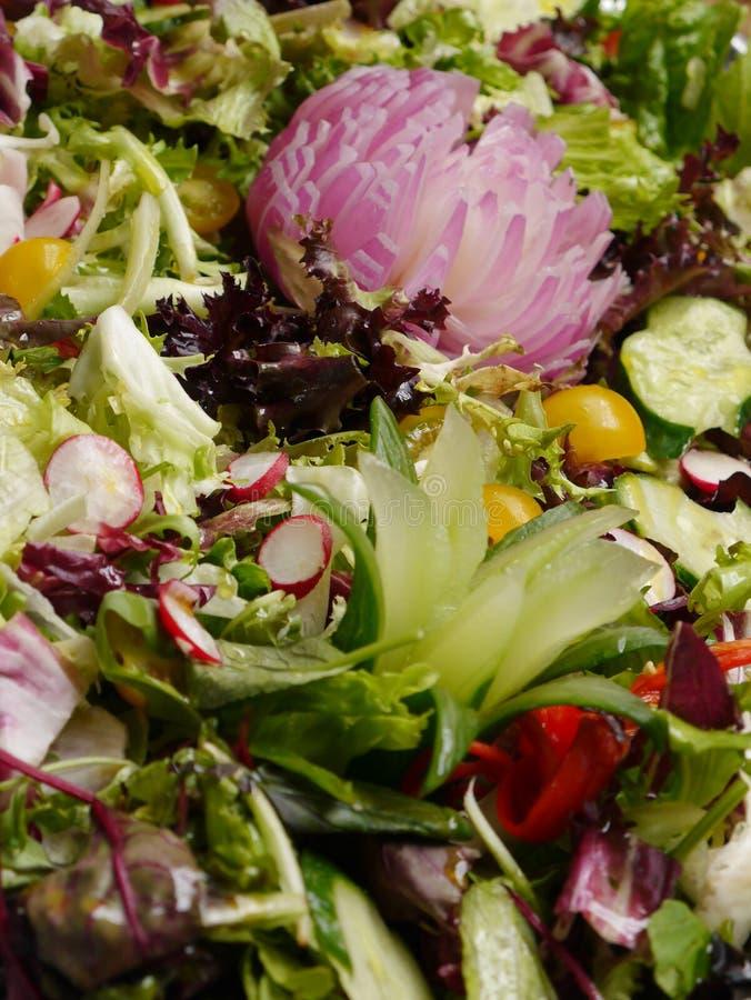 Vrij Keurige Salade royalty-vrije stock foto's