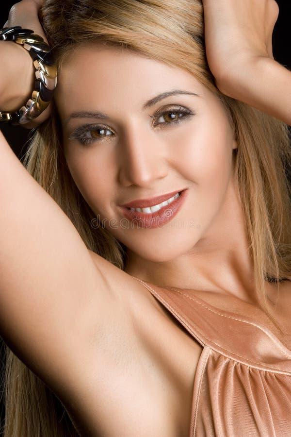 Vrij Mexicaanse Vrouw royalty-vrije stock afbeelding
