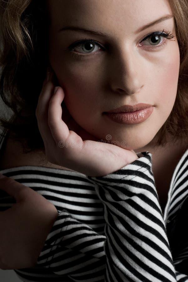 Vrij in Streep stock afbeeldingen