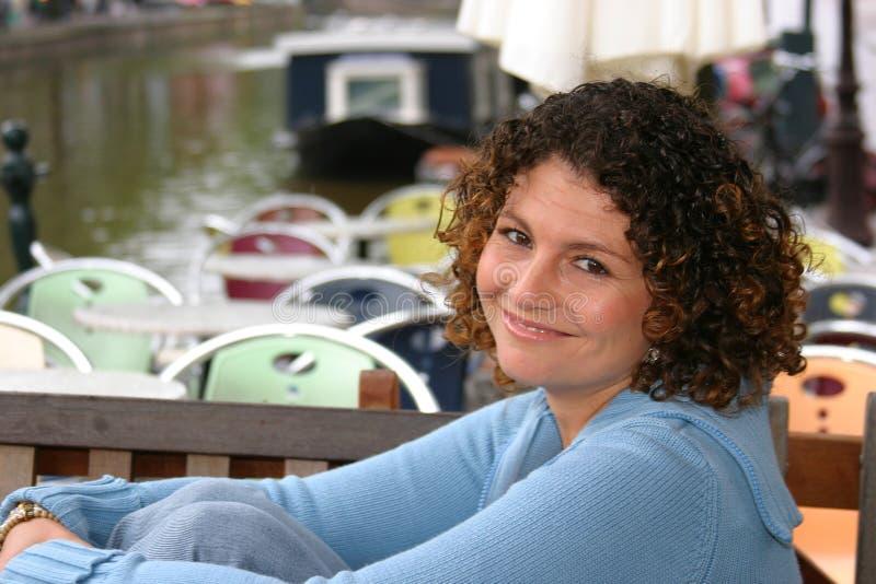 Vrij Tunesische vrouw royalty-vrije stock afbeeldingen