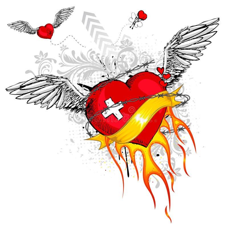 Vrije Liefde stock illustratie